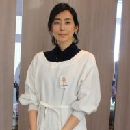 女優・木村多江さんがTV番組の衣装で着用してくださいました!!